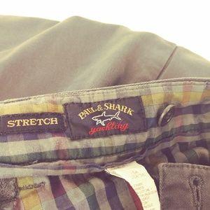 Paul & Shark Pants - Paul & Shark Yachting Stretch Pants Gray W38